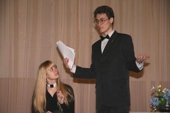 Мистер Гейдж дает наставления актерам